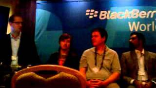 BlackBerry World 2011 Q&A Session For Developers