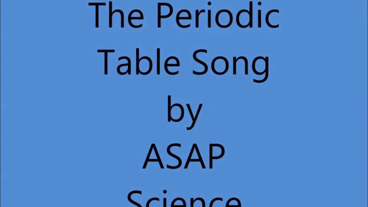 Asapscience the new periodic table song lyrics 5285719 chesslinksfo this page contains information about asapscience the new periodic table song lyrics urtaz Images