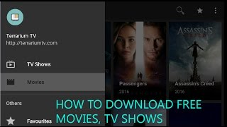 Terrarium TV : DOWNLOAD & STREAM your favourite Movies, TV Shows, Anime for FREE