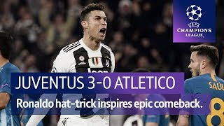 Juventus vs Atletico Madrid (3-0) | UEFA Champions League Highlights