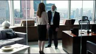 Suits s03e01 Funny Moment with Louis and Donna