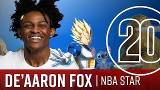 De'Aaron Fox 20 Questions