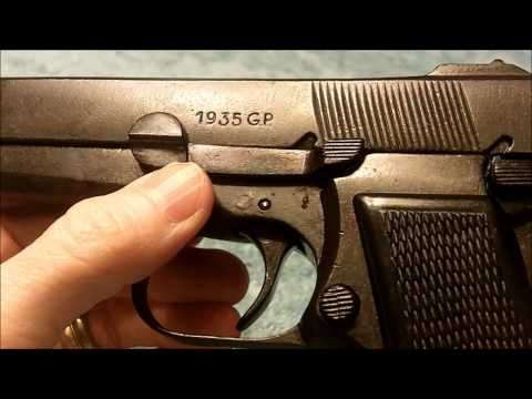 Browning Hi Power non-firing replica pistol - Denix