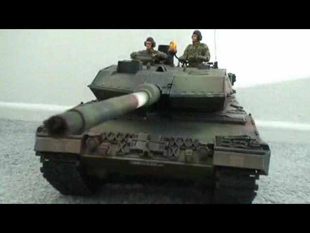 Building a TANK! German Leopard Battle Tank - TAMIYA RC 1:16 Scale TANK