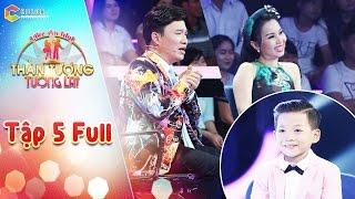Thần tượng tương lai   tập 5 full HD: Giọng hát của cậu bé 9 tuổi khiến Quang Linh, Cẩm Ly thích thú