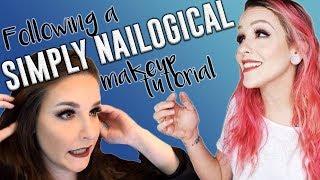 I Tried Following a SIMPLYNAILOGICAL Makeup Tutorial | Savannah Marie