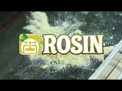 Pressing Drysift Rosin using the Rosin Technologies heat press
