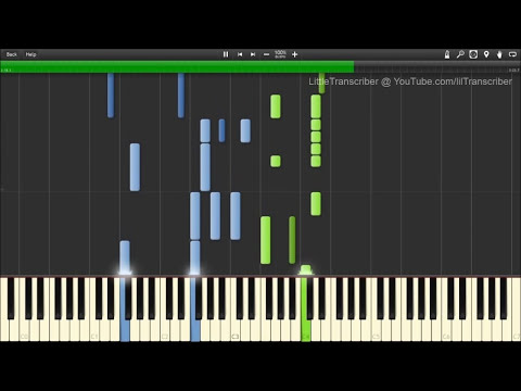 The Script - Hall Of Fame (Piano Cover) ft. will.i.am - LittleTranscriber