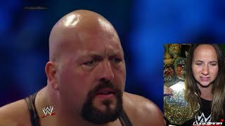 WWE Smackdown 8/8/14 Big Show Mark Henry vs Rybaxel Live Commentary