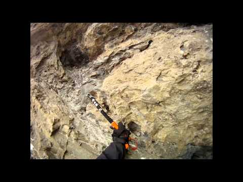 Climbing in Canadian Rockies (Winter)