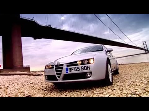Alfa Romeo 159 - James May tries not to swear - Top Gear - BBC