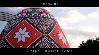FOTGA ND Filter Video & Photo Test