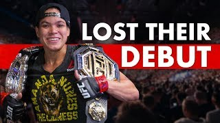 10 Great MMA Fighters Who Lost Their Debuts
