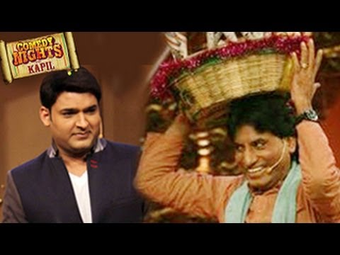 Raju Srivastav on Comedy Nights with Kapil - 8th December 2013