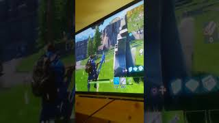 My first game of Fortnite on video