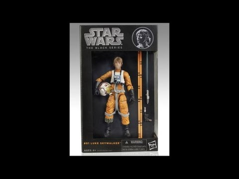 Hasbro Star Wars Black Series #01 Luke Skywalker HD Overview | www.flyguy.net