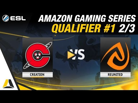 Amazon Gaming Series Qualifier #1 ► Demi-finale : REUNITED.GG vs Creation eSports