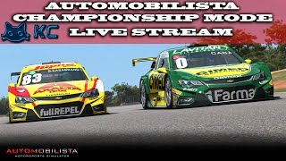 Gaming :Automobilista (PC) 🚗 Championship Mode  (Live Stream🔴 13/08/2018)