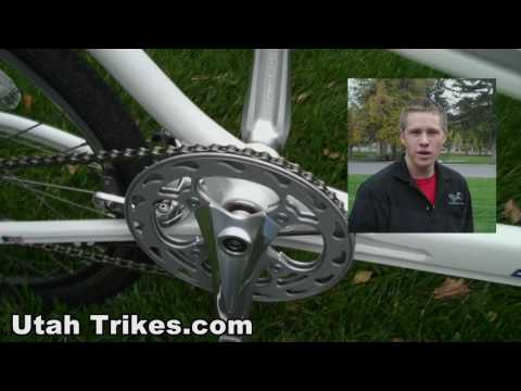 StreetStrider ETX Elliptical Trike presented by Utah Trikes