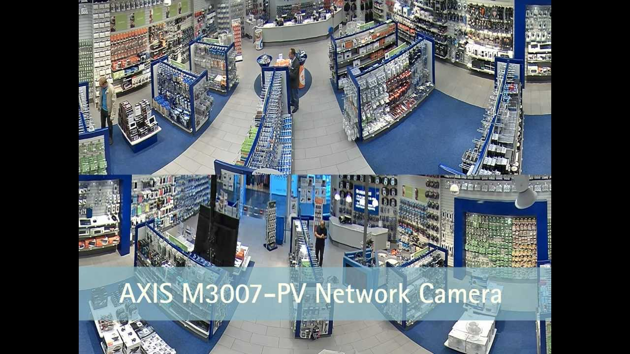 Double Panoramic Views With Axis M3007 Pv Network Camera