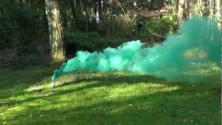 Paintball Gotcha Rauchbombe grün Tippmann Paintball Shop Woodland Szenario Paintball