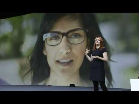 Amazing Google Glasses Demonstration at Google I/O 2012