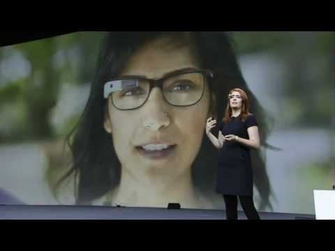 Amazing Google Glasses Demonstration At Google Io 2012
