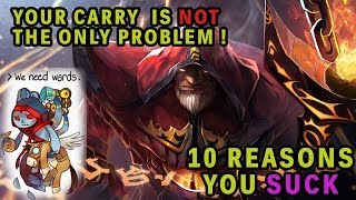 10 Reasons you SUCK at suporting | Dota 2 Guide | ft NIP.PPD, Liquid.GH, EG.Fly, Fear