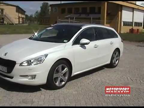 peugeot 508 sw gt 2 2 hdi review motorsport magazin by miroljub nikolic youtube. Black Bedroom Furniture Sets. Home Design Ideas