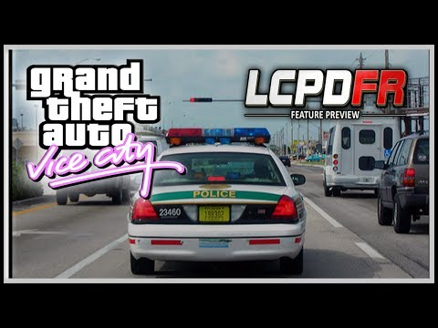 GTA VICE CITY LCPDFR - Letsplay VCPDFR - Broward County Sheriff Florida