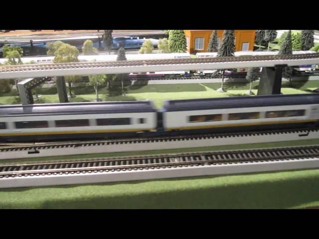 Hornby Eurostar Model Train Set (R2379A)
