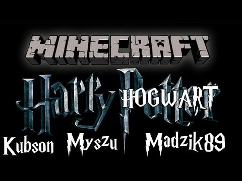 Minecraft #0? - Zwiedzamy Hogwart /w Myszu, Madzik89
