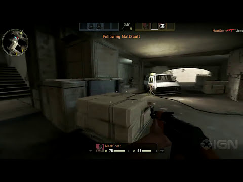 Counter-Strike: Global Offensive - Underpass Firefight