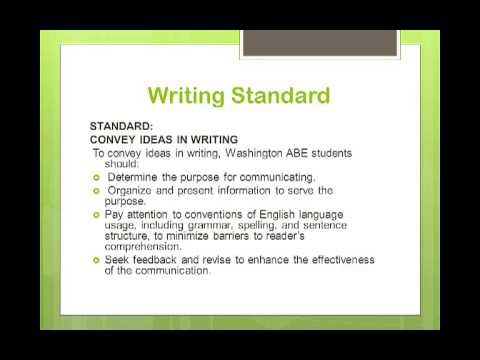 Grays Harbor College - Washington State Learning Standards