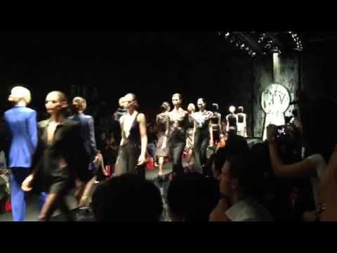 Diane von Furstenberg show at Singapore Fashion Week 2015
