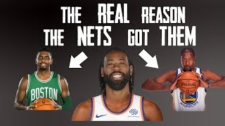 The REAL Reason Kevin Durant and Kyrie Irving Signed with the Brooklyn Nets