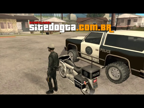 Authority Mod - GTA San Andreas (Cleo 3)