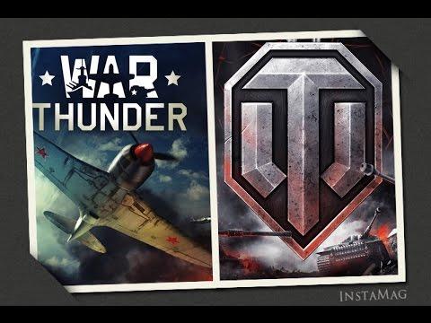 Сравнение игр.  War thunder  VS  World of Tanks (2016) (не актуально)