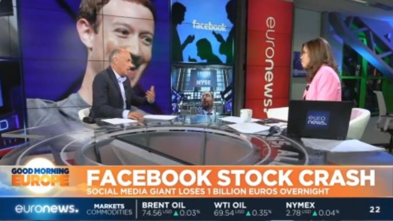 Facebook Stock Crash: Social media giant loses 120 billion dollars of its company value