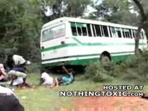 Horrific Aftermath Of A Sri Lankan Attack On A School Bus video