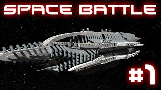 Minecraft Spaceship Battle - Epic Ships! #1