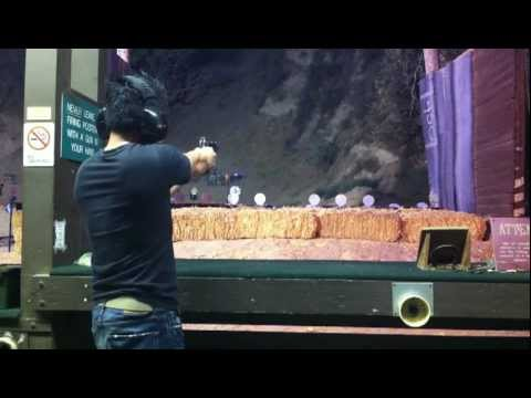 Kimber Custom II 1911 Speed Shooting at Oak Tree Gun Club