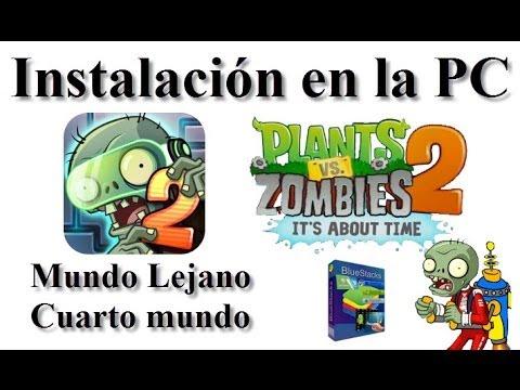 Plants vs zombies 2 para pc instalacion con aptoide 2014