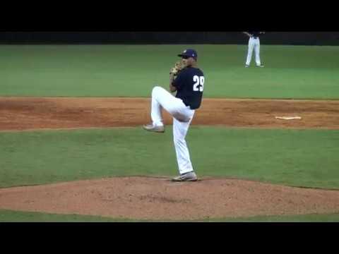 Xavier Cruz - OF/RHP - USA Baseball NTIS (16u) Pitching Highlights - Class of 2020
