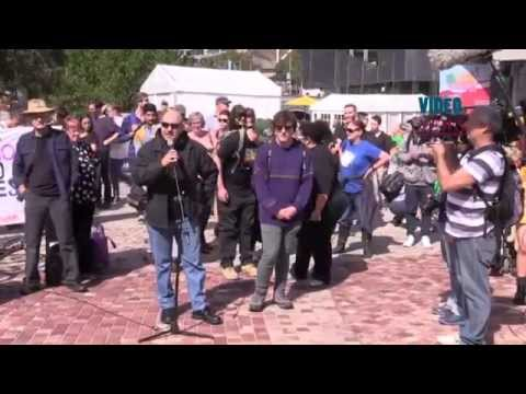 Anti Islam And Anti Racism Protests In Melbourne video