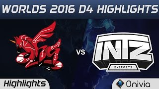 AHQ vs ITZ Highlights Worlds 2016 D4 AHQ Esports vs INTZ Esports