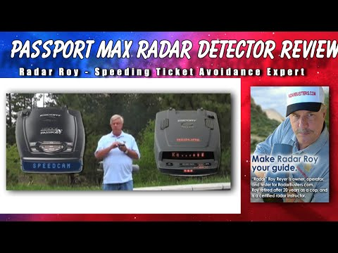 Escort Passport Max Radar Detector Review
