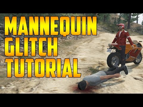 Mannequin/Blow-Up Doll Glitch in GTA 5 featured on Vanoss & Friends