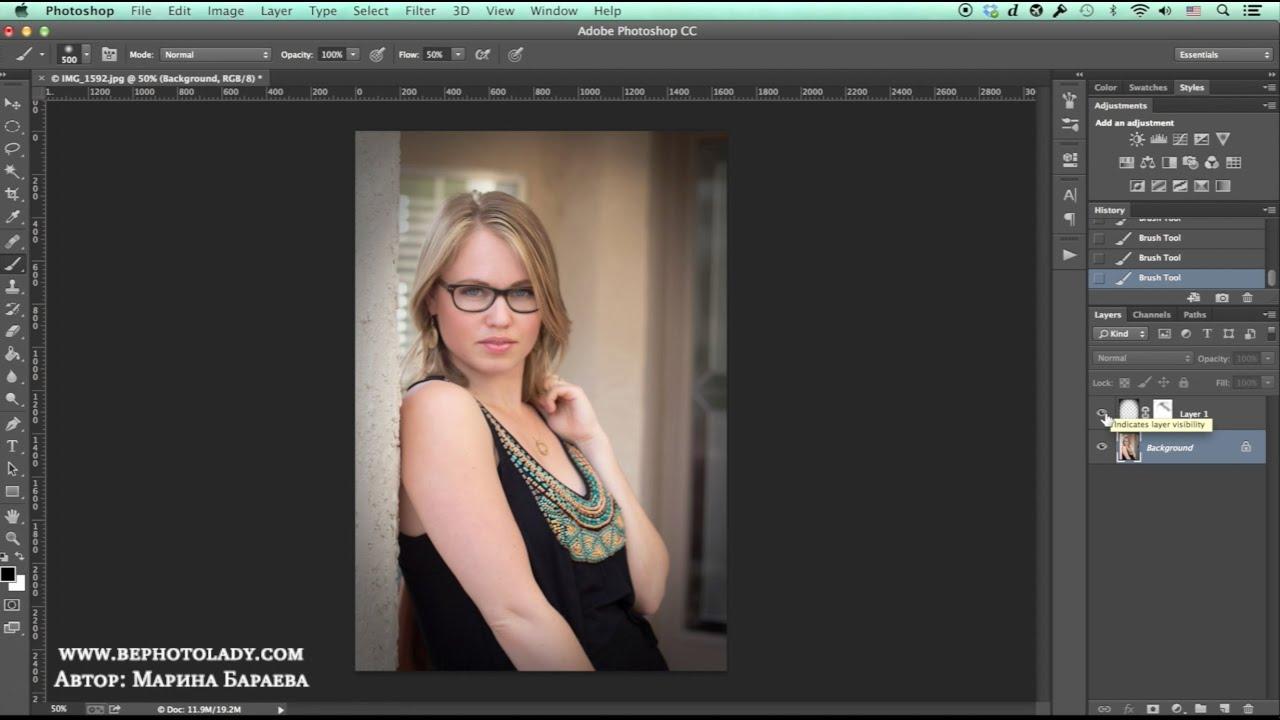 Как сделать виньетку тёмную в фотошопе