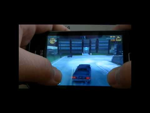 GTA III On Samsung Galaxy Ace
